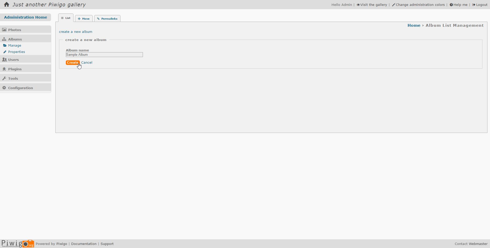How to Install Piwigo Photo Gallery on Ubuntu 16 04 LTS